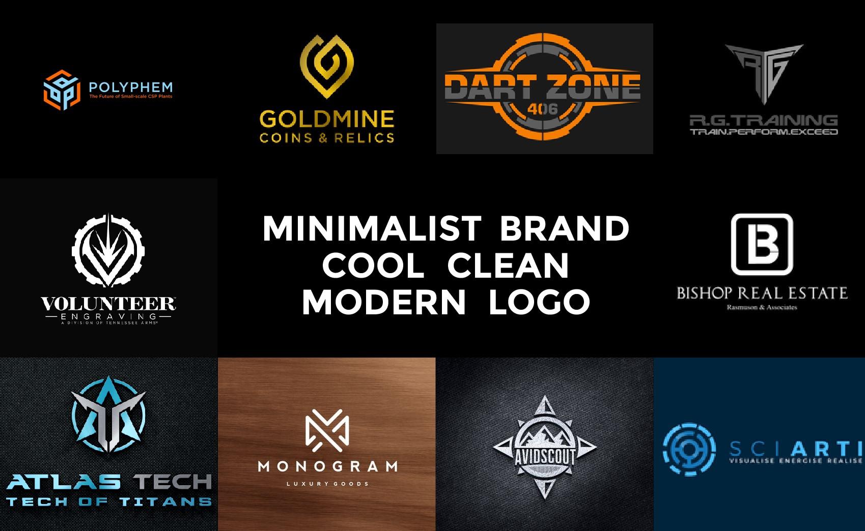 Make Modern Futuristic Logo Design By Salintama