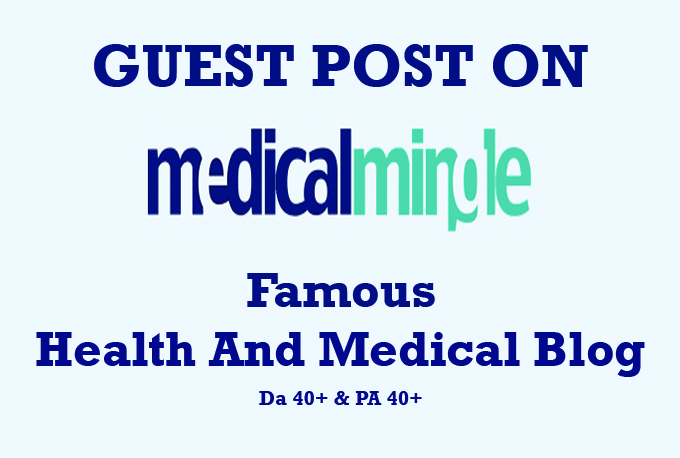 guest post on health and medical blog