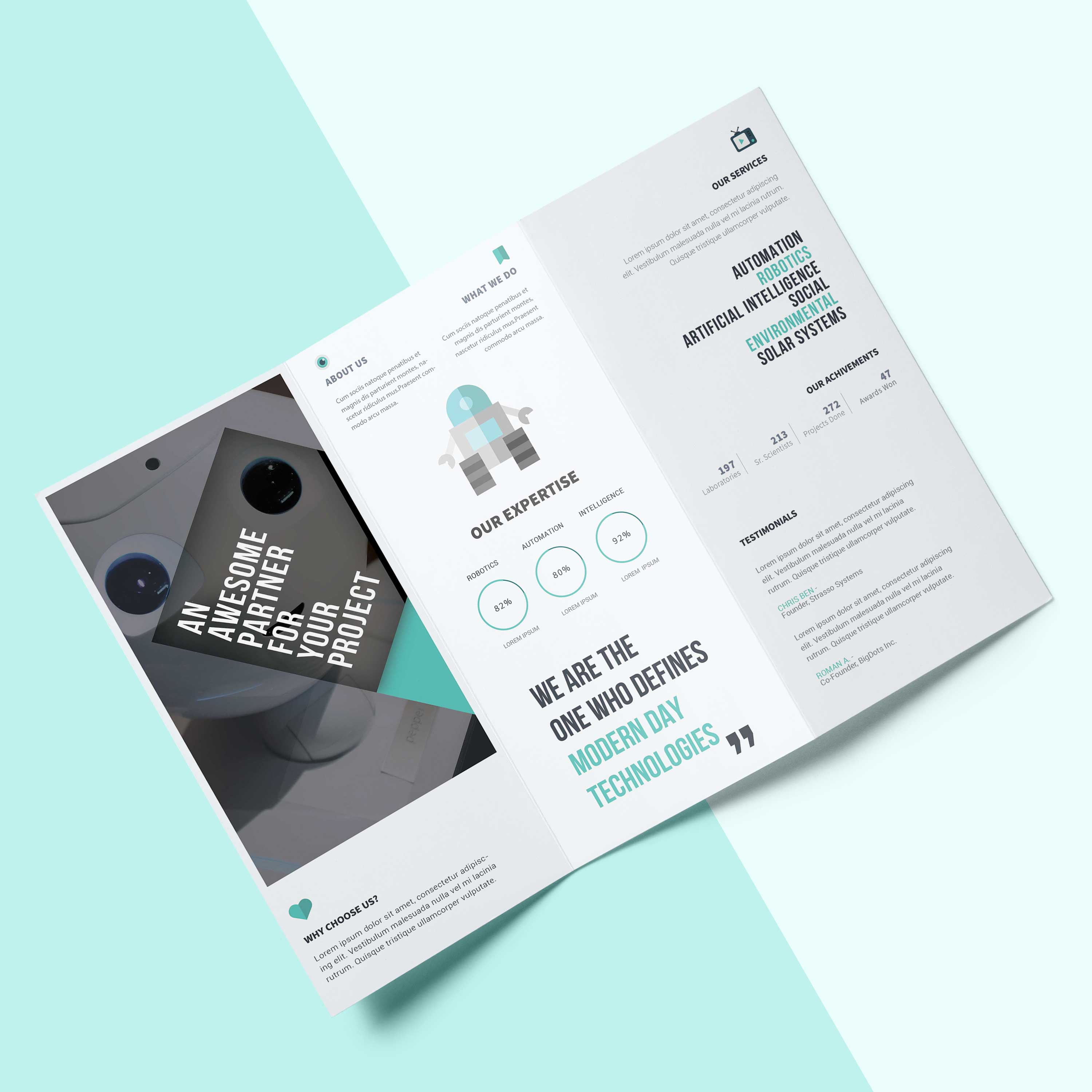 Fast Flyer And Brochure Design By Aaronyancey