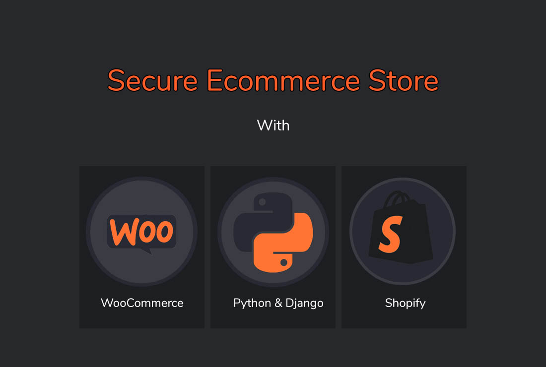 build secure ecommerce store