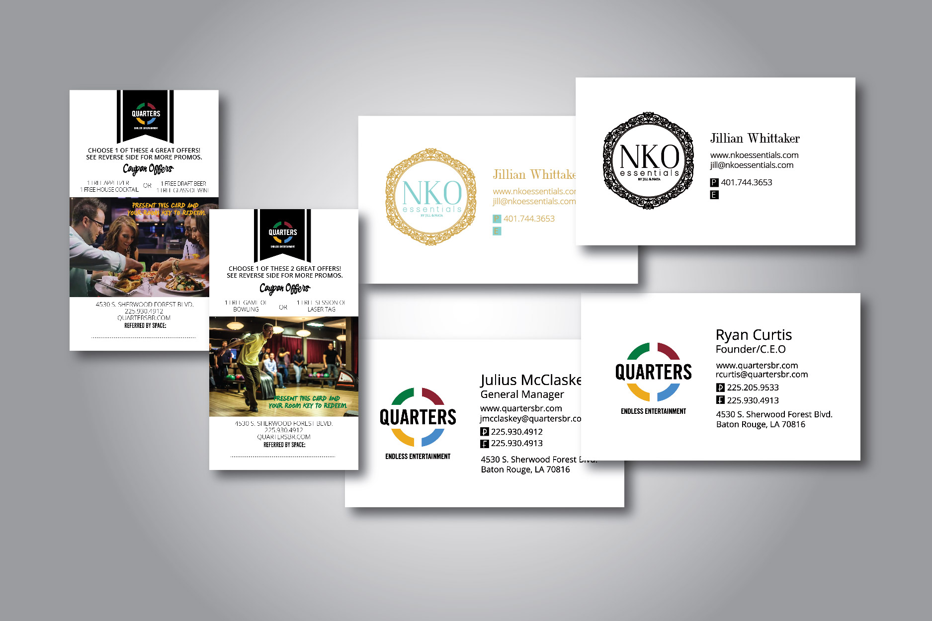 Do Your Business Card Or Promo Coupon By Maraveiler