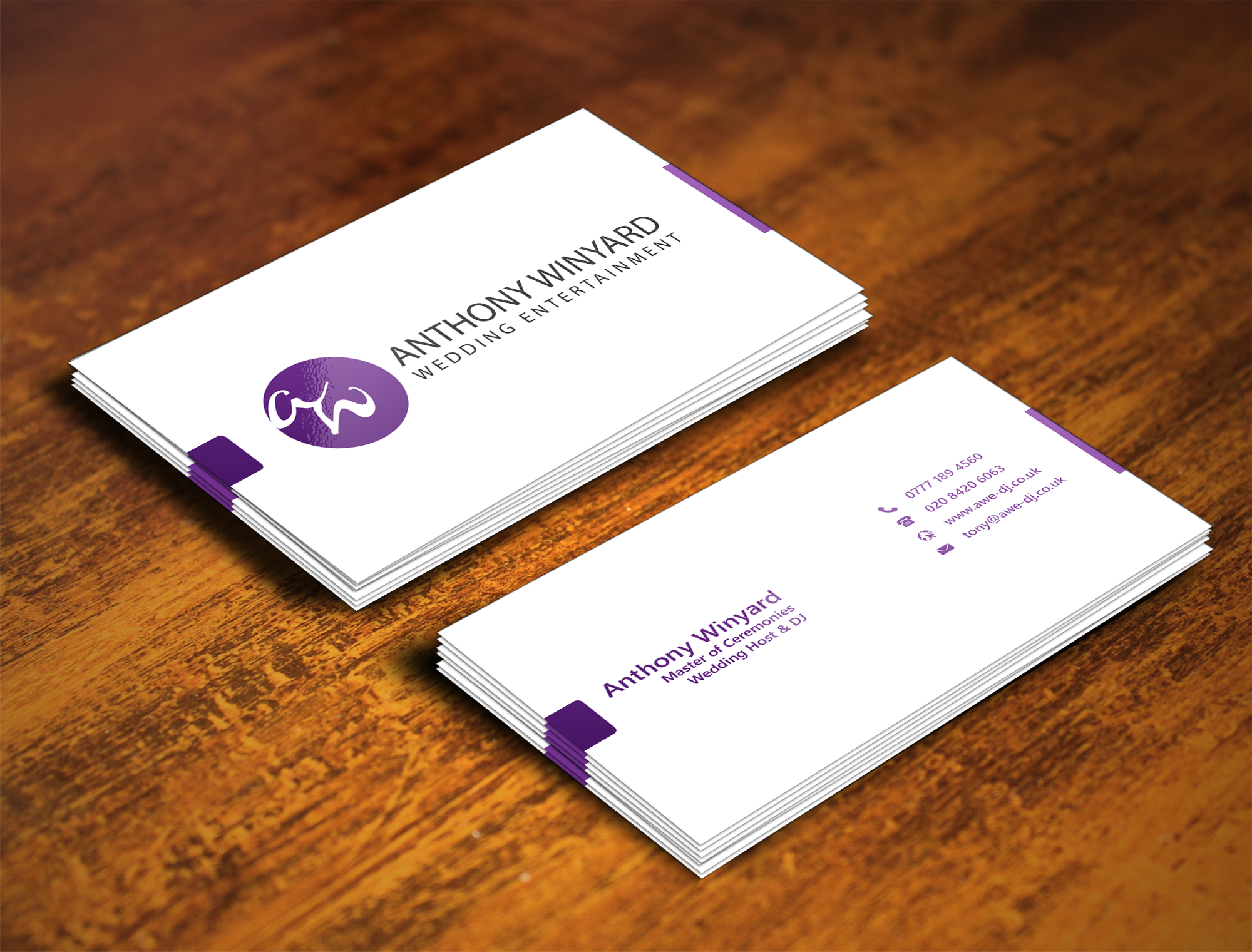 Design creative and minimal business card by mjarif19 reheart Image collections