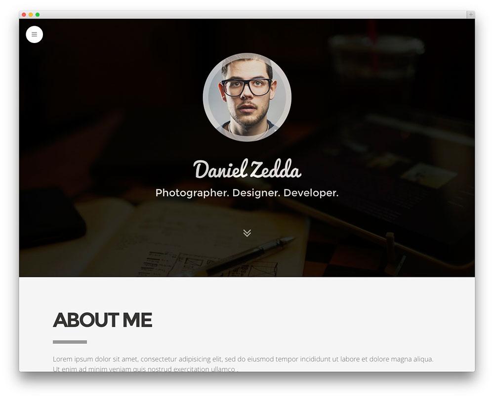 Create Professional Portfolio Website By Harishaziq