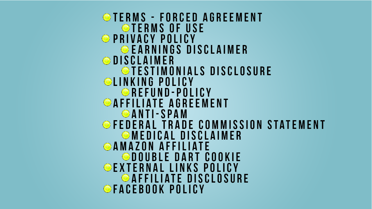 Create Legal Pages Or Terms And Conditions Or Disclaimer For Your