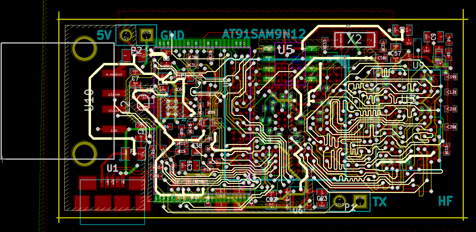 Do Pcb Schismatic And Layout Embedded By Haishooom Best Of Free Design Software