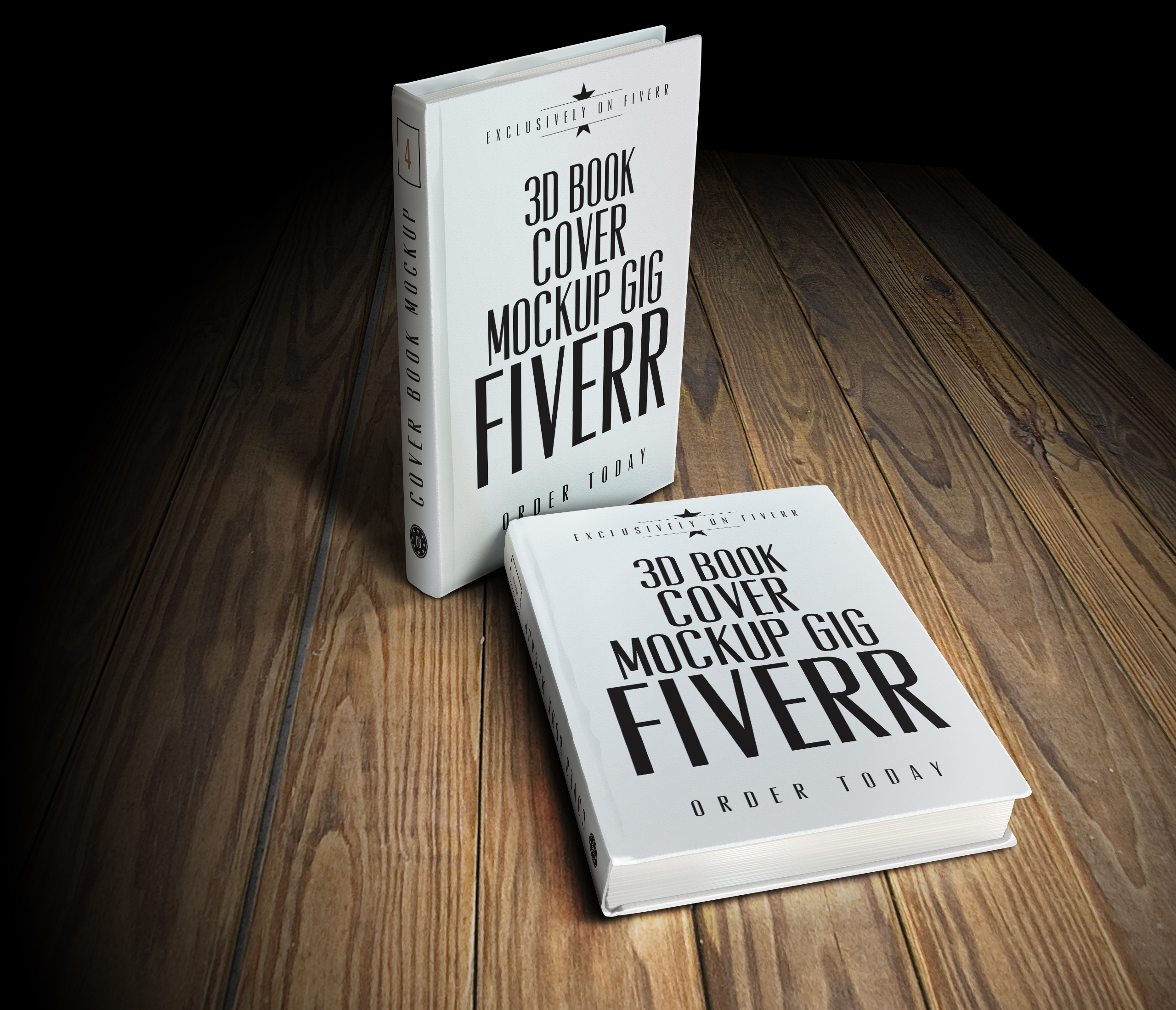 convert your 2d cover into an amazing 3d book mockup by nikky design