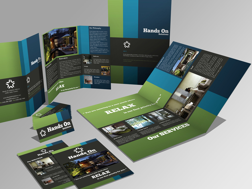 Create professional elegant business brochures by designshare colourmoves