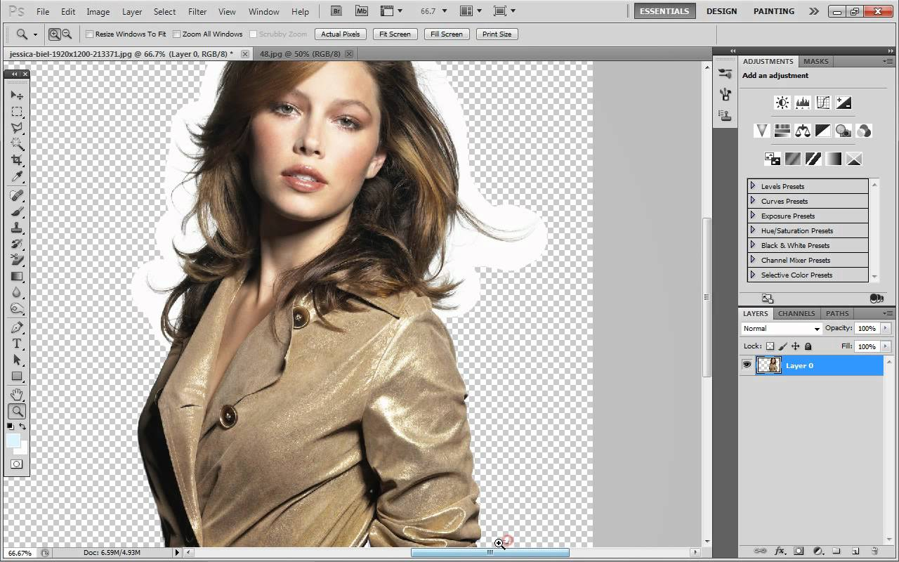 Photoshop to delete background how in