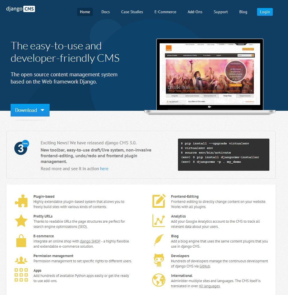 Make website using django cms, mezzanine, flask by Amitgupta848
