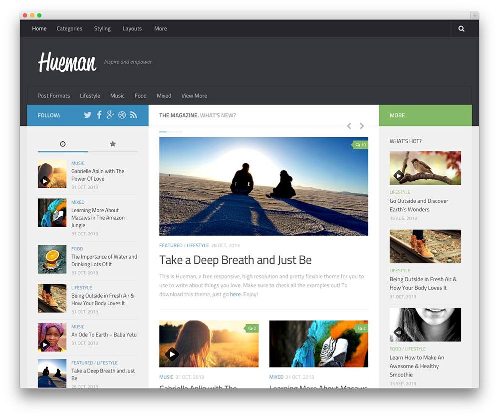 build a responsive wordpress website or blog by ridhimapandit