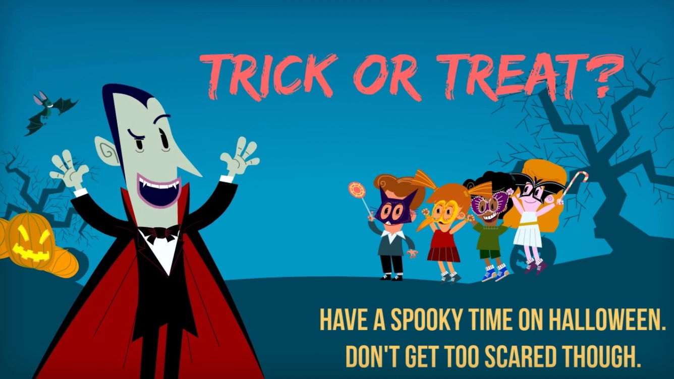 Make 30 Seconds Animated Halloween Greeting By Rachnaghiya