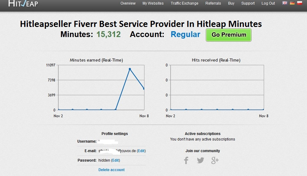 provide hitleap accounts 40 000 minutes by hitleapseller