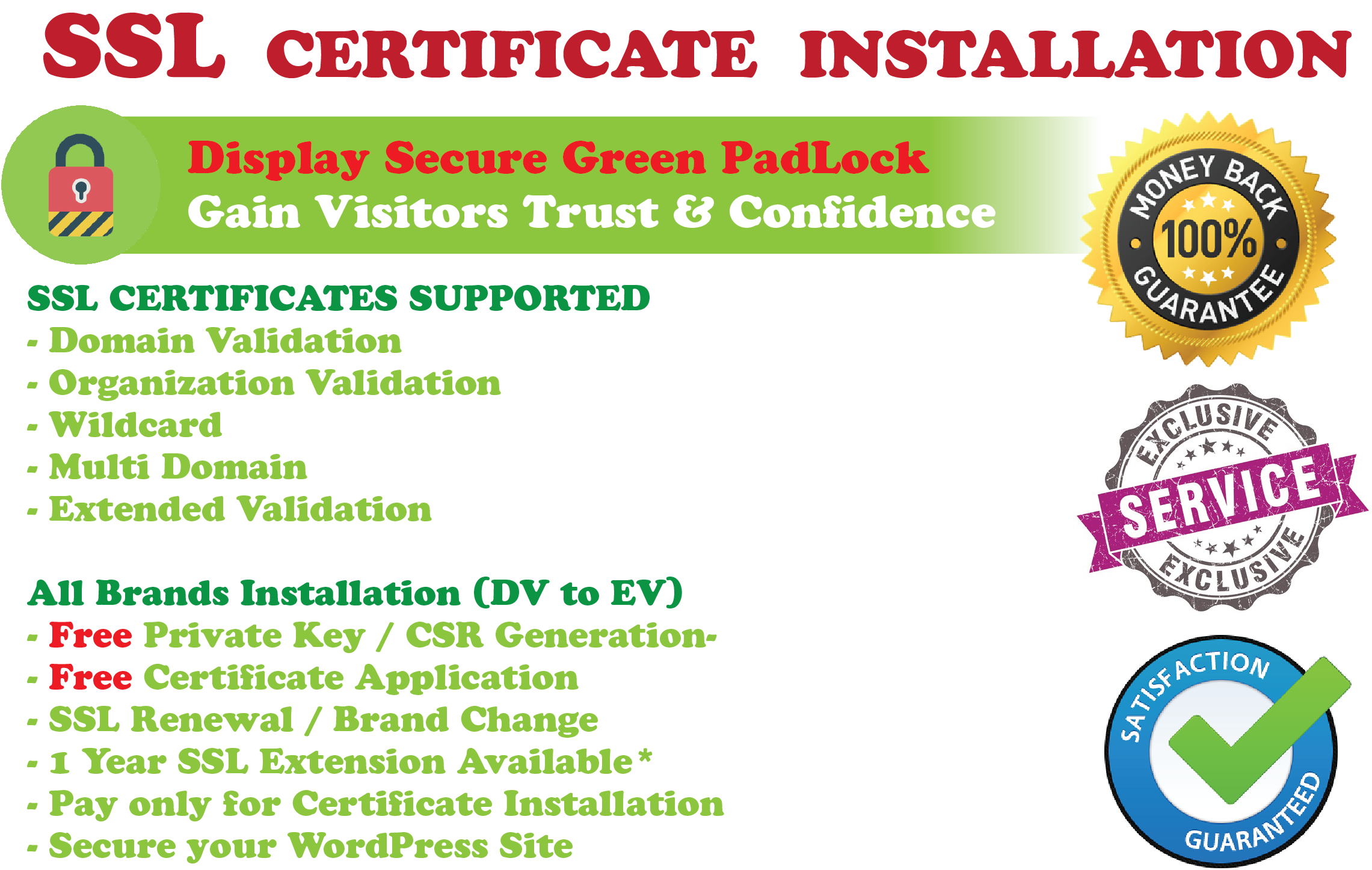 Install Ssl Certificate Which Will Generate Site Traffic By Aalina