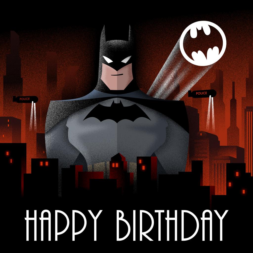 Record a batman birthday message by mistercorley m4hsunfo