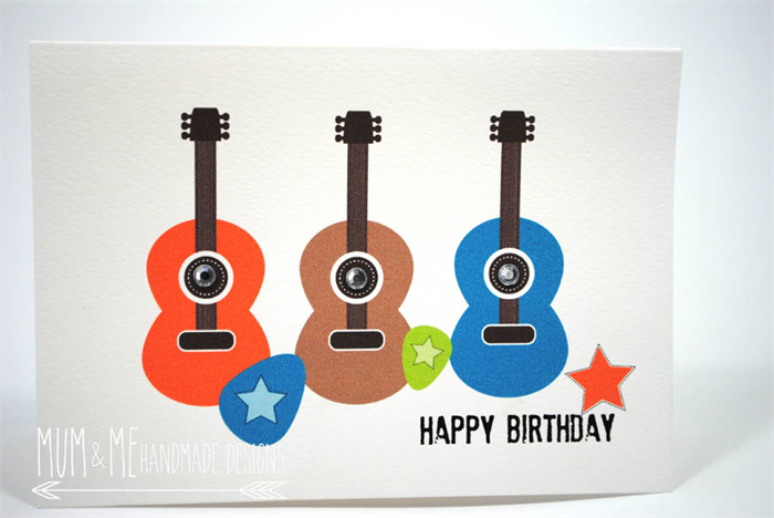 Sing Happy Birthday On GUITAR With Slideshow Image