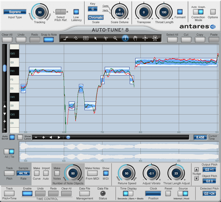 autotune your vocal track by byronarm