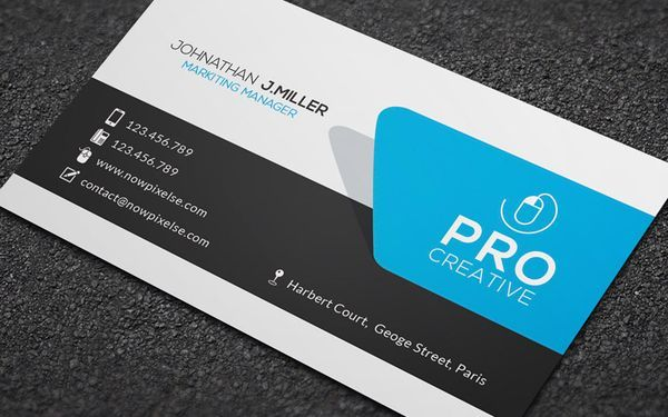 Design stylish outstanding business card by coolconcepts reheart Choice Image