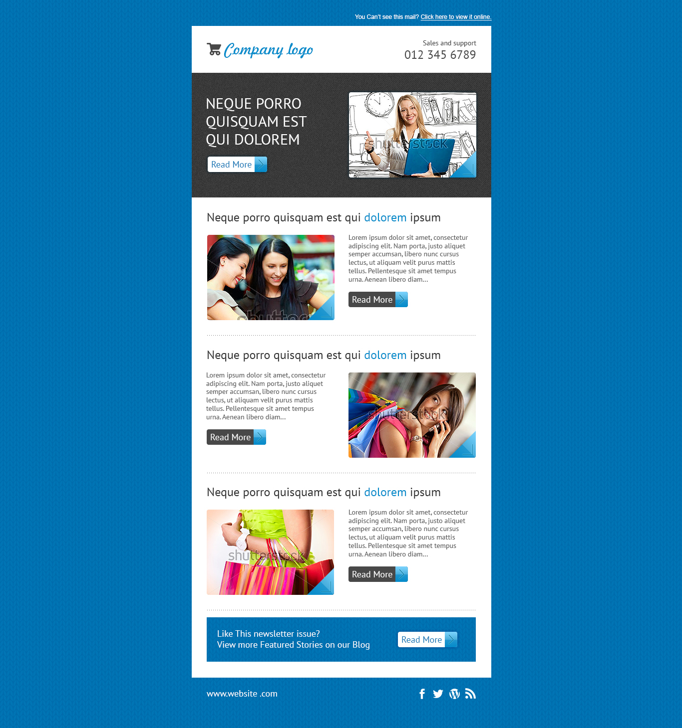 Design a responsive mailchimp template by mustafizeps fbccfo Image collections