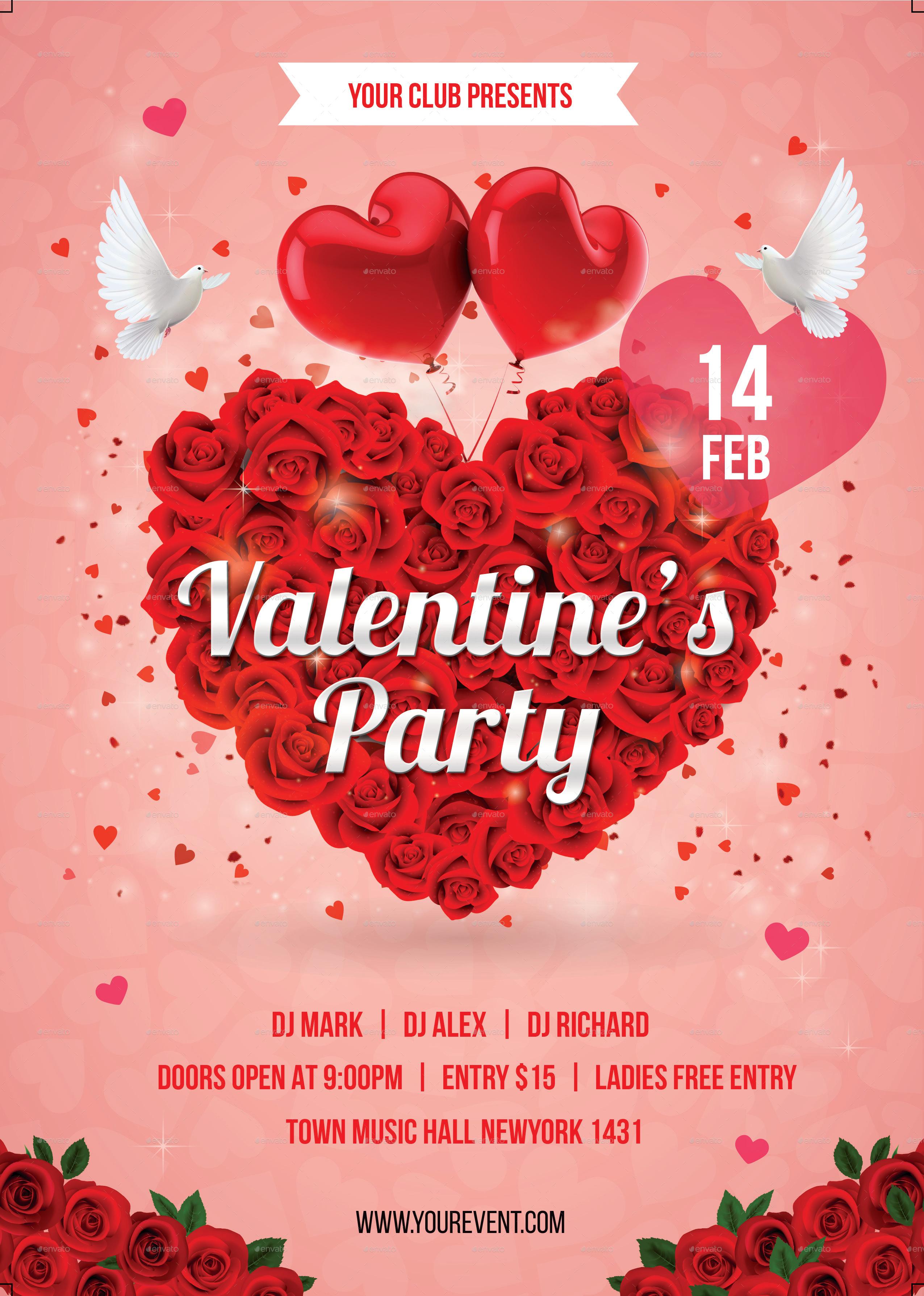 Design Valentine Day Flyer By Hamzy22