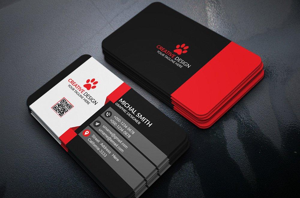Create a world class business card by abhishekmudali colourmoves