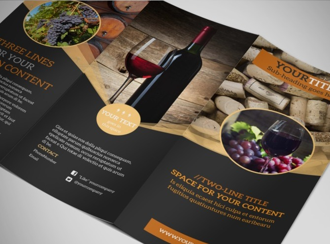 design awesome professional brochure by alone reza