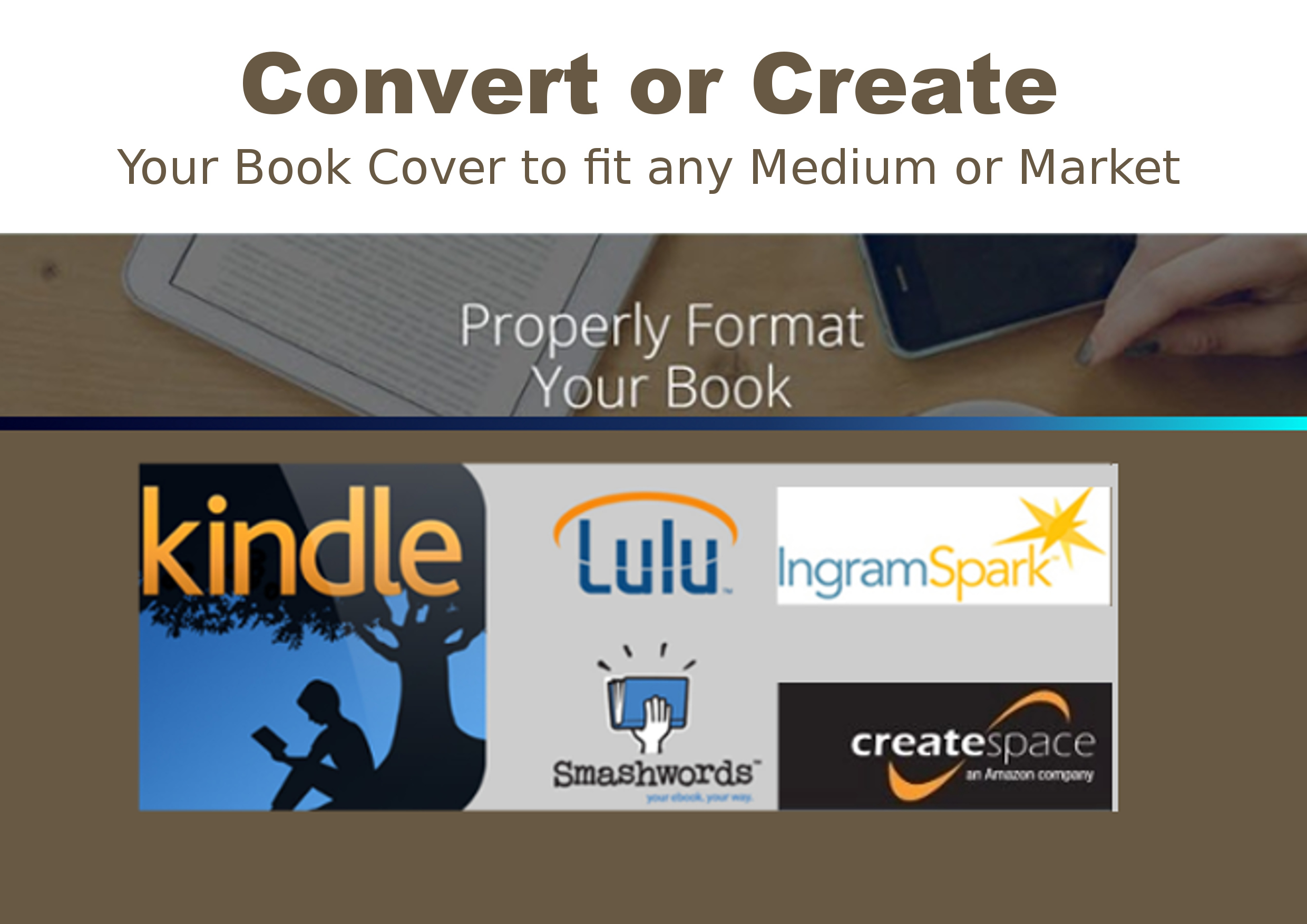Covert Your Book Cover To Fit Pod Template By Glmorrison