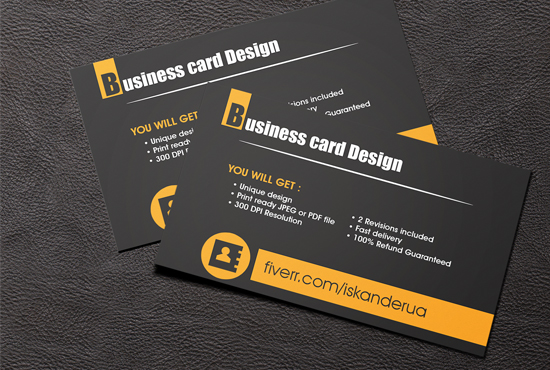 Do business card design by iskanderua reheart Images