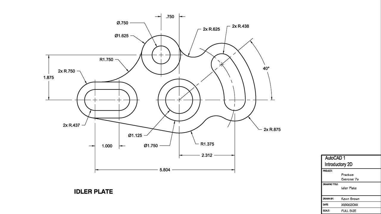 autocad drawing samples mechanical engineering