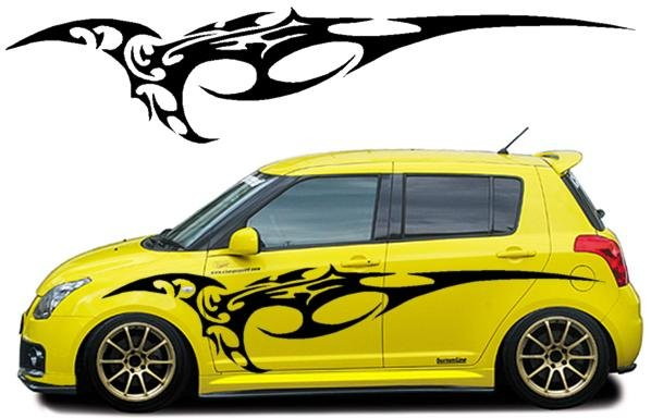 Design sticker car wrap for van or any vehicle by dezinefoxx