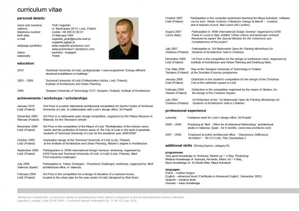 create a cv for you by omer_zahid