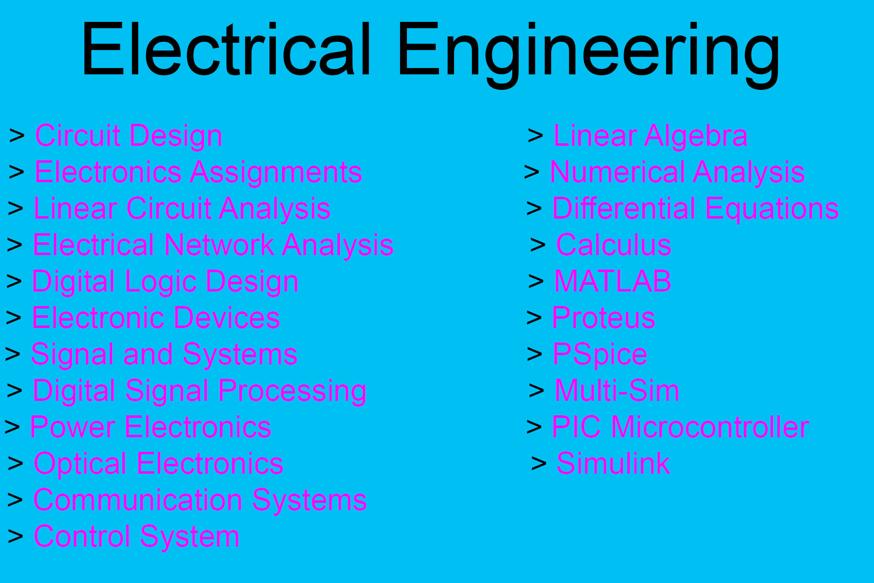 Assist Electrical Engineering And Circuit Design Basic Of Electronic