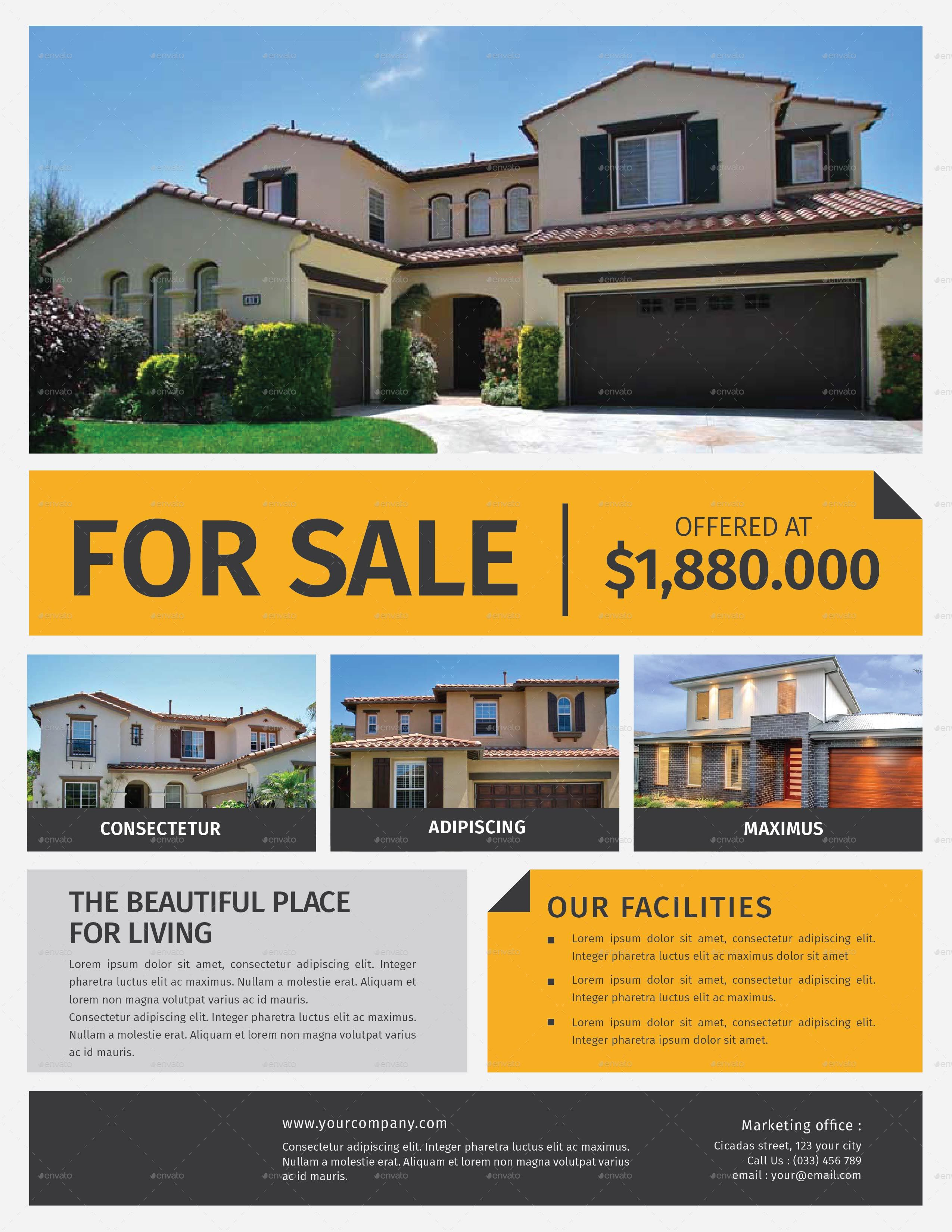 design your real estate flyers by faith lance