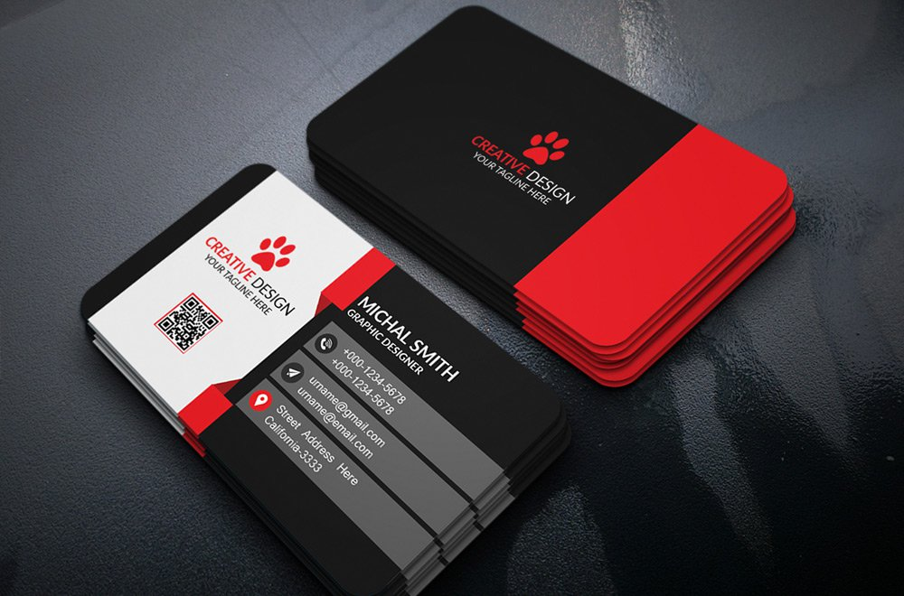 do 2 business card design only for 5 by terry bogger