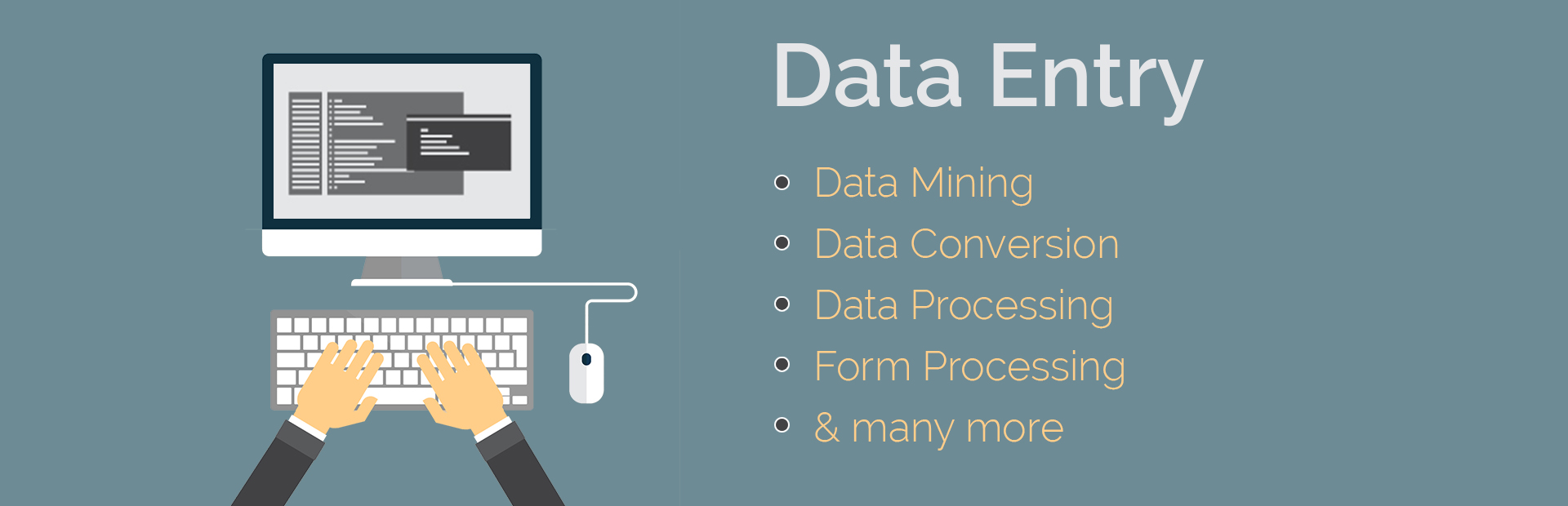 do data entry rapidly for you fiverr