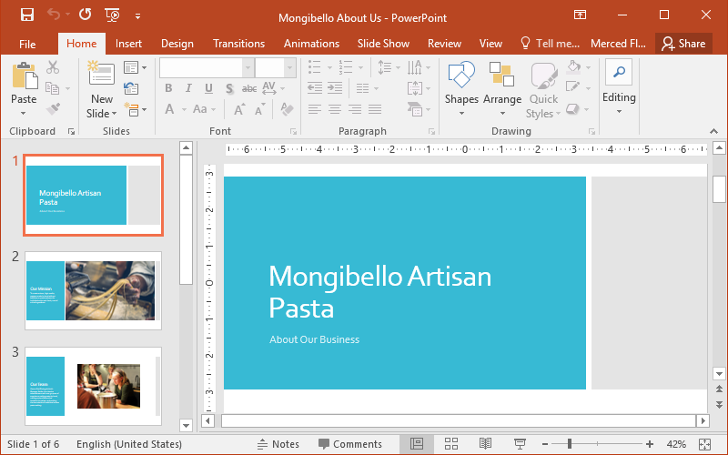 create and design a professional powerpoint presentation by srozybd