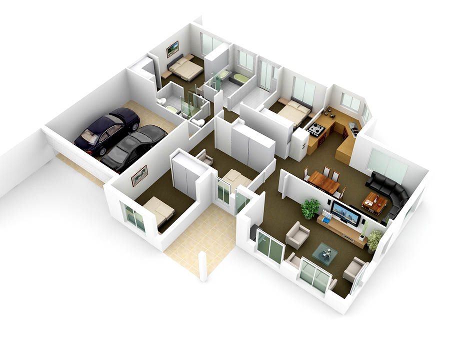 Create A 3d Floor Plan, Interior Design And Renderings By Lindapatricia08